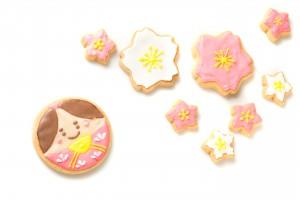 お雛様クッキー